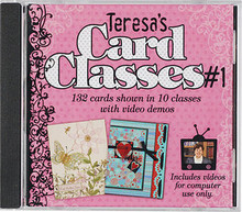 Special Purchase Teresa's Card Classes #1 CD HOTP 1509 132 Cards in White Sleeve