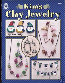 Kim's Clay Jewelry Book Polymer Clay Beads NEW OOP