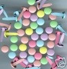 "500 1/8"" MINI Brads Spring Pastel Colors VALUE PACK"