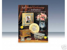Soft Metal Embossing book ArtEmboss Art Crafts NEW