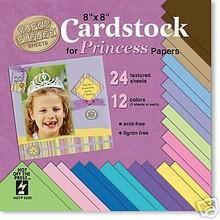 Disney Princess 8x8 Papers Cardstock Scrapbook 5230
