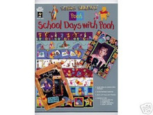 Disney School Days with Pooh Scrapbooking Papers 3042 OOP Condition NOTE