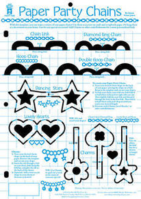 HOTP Template 7382 Paper Party Chains Template