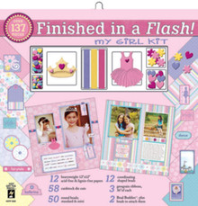 Finished in a Flash MY GIRL Scrapbooking HOTP5282