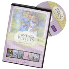 Christine Haworth Paintbox Poppets Papercrafting CD-Rom