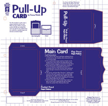 HOTP Template 7430 Pull Up Card Template 12X12