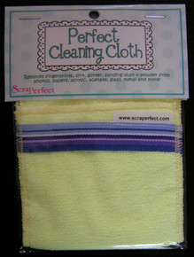 Scraperfect Perfect Cleaning Cloth Removes Fingerprints Dirt Glitter Sanding Dust and Powder