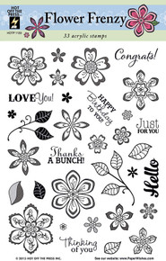 HOTP Flower Frenzy Clear Stamps 1133
