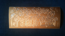 Joy! Crafts N110 Gold Outline Peel Rectangle Stickers