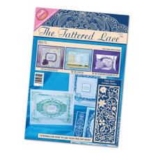Tattered Lace Magazine with Floral Panel Cutting Die Issue 8
