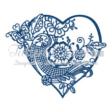 Tattered Lace Heartfelt Tapestry Cutting Die D641 Retired