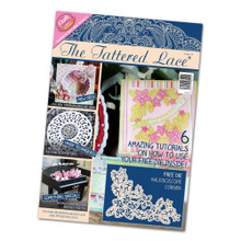 Tattered Lace Magazine Issue 14 Kaleidoscope Corner Cutting Dies