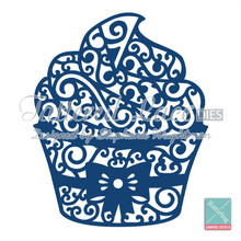 Tattered Lace - Large Cupcake- D200 Cutting Dies