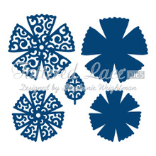 Tattered Lace - Lacy Chrysanthemum Die Set - D217 Cutting Dies