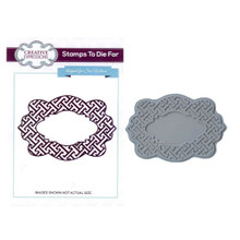 Creative Expressions Pre-Cut Rubber Stamp Sue Wilson UMS594 Greek Key [Home]