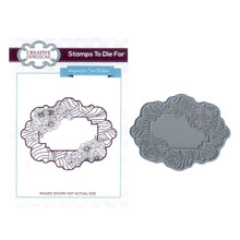 Creative Expressions Pre-Cut Rubber Stamp Sue Wilson UMS607 Sand Dune Floral