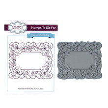 Creative Expressions Pre-Cut Rubber Stamp Sue Wilson UMS599 Island Garden