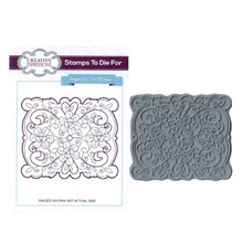 Creative Expressions Pre-Cut Rubber Stamp Sue Wilson UMS600 Filigree [Home]