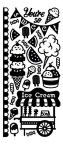 HOTP Dazzles Tasty Sweets Dazzles Stickers Gold  HOTP2519