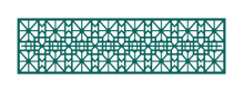 Cheery Lynn Shoji Mesh Border Panel B371 Cutting Die Cut