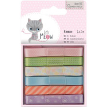 Little Meow Large Ribbon 6 Styles 1-Meter Each