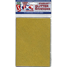 Stix2 Anything Self-Adhesive Glitter Paper 6 Pastel Colors Permanent Adhesive