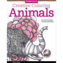 Creative Coloring Animals: Art Activity Pages to Relax and Enjoy! [Paperback...