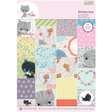 Little Meow A4 Paper Pack 48 Sheets