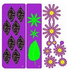 Cheery Lynn Designs B181 Build a Flower #1 20-pc Set