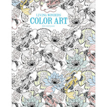 Living Wonders Coloring Book for Everyone Intricate Line Drawings for Relaxation and Wellness