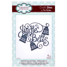 Craft Die CED3031 Sue Wilson Festive Collection - Jingle Bells