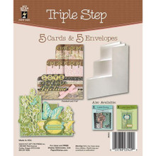 Hot Off The Press - Triple Step Die-Cut Cards