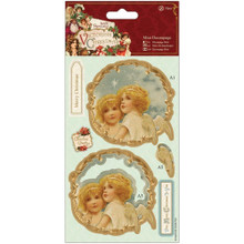 DoCrafts Victorian Christmas - Mini Decoupage - Angels