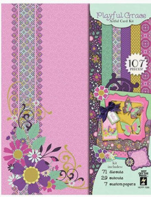 Hot Off The Press Playful Grace Artful Card Kit HOTP7286