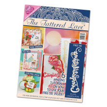 The Tattered Lace Magazine Issue 23 with Delicate Congratulations Cutting Die...