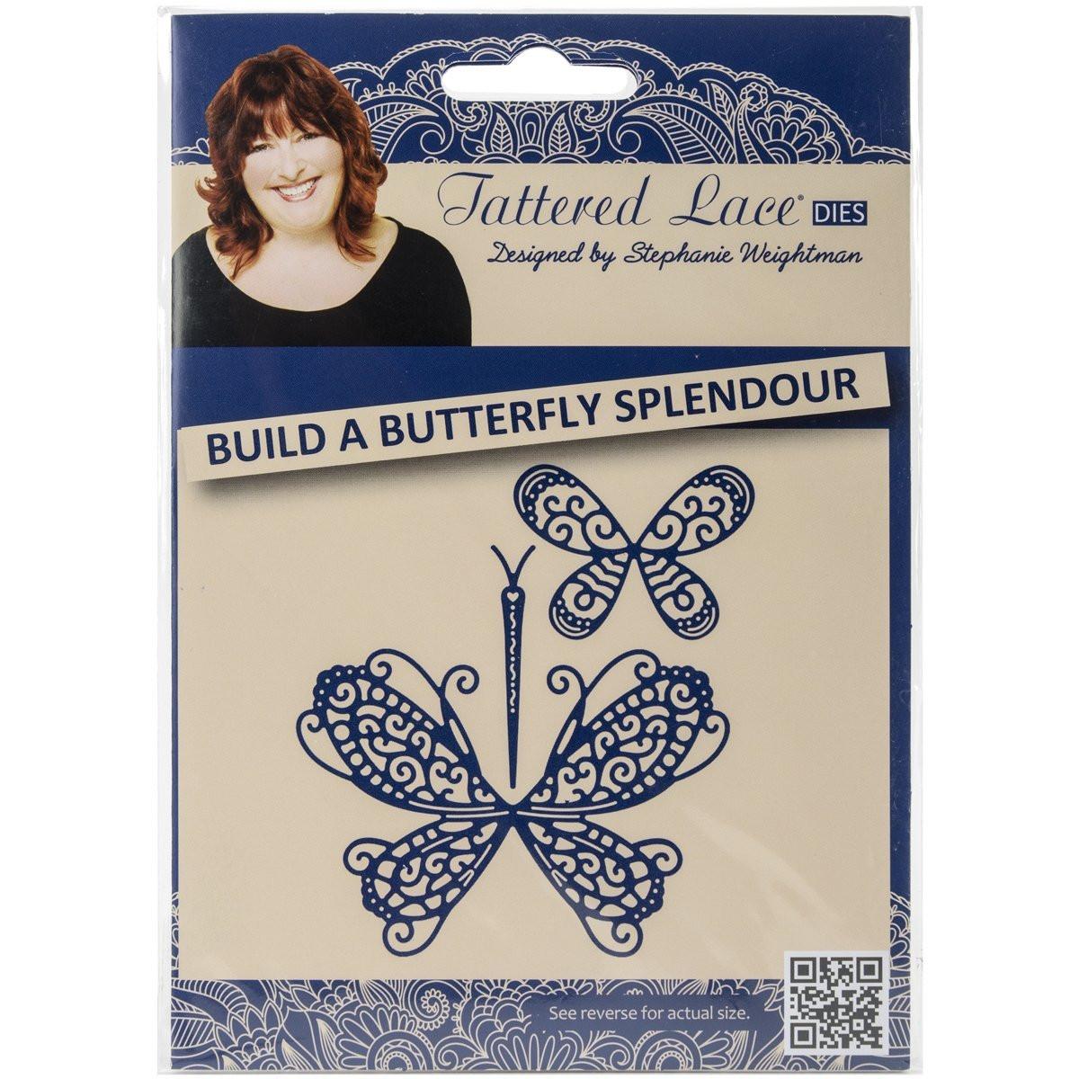 BUTTERFLY Butterflies Set DIE Craft Die Cutting Die Tattered Lace Dies D466 New
