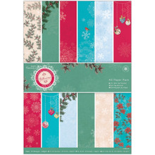 Papermania Bellissima Christmas A5 Paper Pack 36/Pkg
