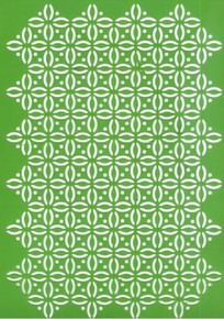 A4 Joy! Craft Plastic Embossing Stencil - Fantasy -  Use for Dry Embossing, Texture Paste, Mask & More!