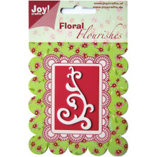Joy! Craft Dies-Floral Flourishes - Swirl 1