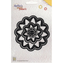 Nellie's Choice Multi Frame Dies - MFD032 Incire Flower Set 2