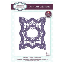 Craft Die CED4311 Sue Wilson Frames & Tags - Alexandra