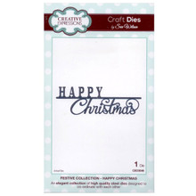 Craft Die CED3046 Sue Wilson Festive Collection - Happy Christmas