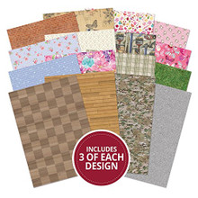 Hunkydory Adorable Scorable Patterns & Textures Collection A4 Sheets 350gsm