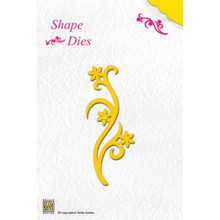 Nellie's Choice Shape Die-Flower Swirl SD002