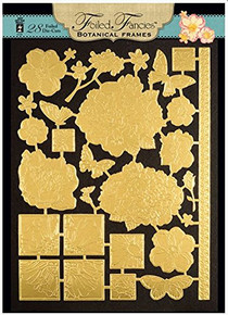 HOTP Foiled Fancies Botanical Frames HOTP6528 28 Foiled and Embossed Die