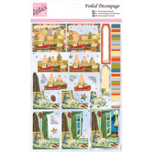Anita's Foiled & Die-Cut Decoupage 3-D Papier Tole --  Harbourside 169644