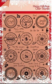 Clear Stamp - Happy Holidays - Noor! - 6410-0107