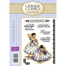 Crisalis Classics The Rehearsal by Christine Haworth EZMount Stamps