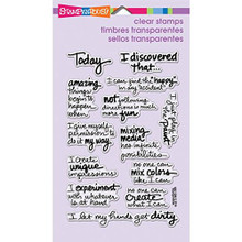 Stampendous Perfectly Clear Rubber Stamp, Discover Today
