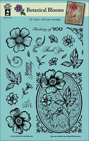 Hot Off The Press - Botanical Blooms Stamp Set HOTP1207